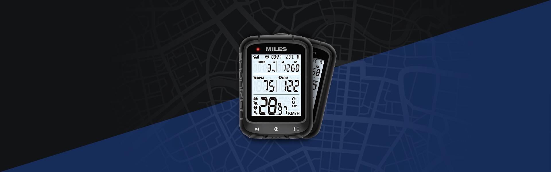 MILES GPS BIKE COMPUTER